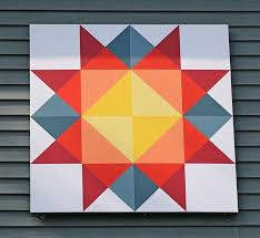 Quilt Patterns For Barn Art Fascinating 48 Best Barn Quilts Images On Pinterest Barn Art Barn Quilt Barn