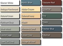 vinyl siding colors and styles. Vinyl Siding Color Chart   Colors Pinterest Colors, And Warm Styles