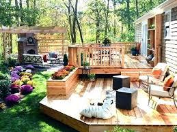 plain patio small patio deck ideas backyard top best brick in backyard patio deck ideas r