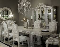 AICO Monte Carlo II Silver Pearl Collection - Aico dining room set