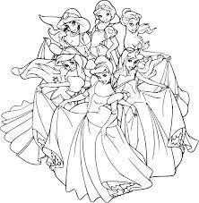 Coloriage Disney Princesse Dessin Imprimer Sur Coloriages Info
