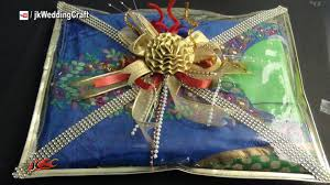 easy wedding trousseau ng how to pack indian dress jk wedding craft 044 you