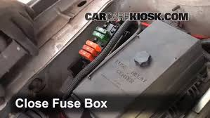 replace a fuse buick park avenue buick park 6 replace cover secure the cover and test component