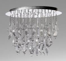 large glass pendant light. Mirabelle 45.25\u2033 Dia Extra Large Glass Pendant Light G