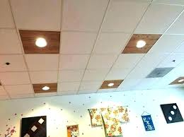 recessed lights for drop ceiling
