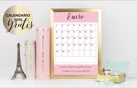 Calendario Planificador 2018 Imprimible Gratis Haz Realidad Tu Idea