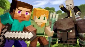 VILLAGE RAID - Alex and Steve Life (<b>Minecraft Animation</b>) - YouTube