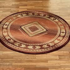rio rancho round rug copper