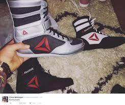 reebok boxing boots. conor mcgregor reveals reebok boxing boots m