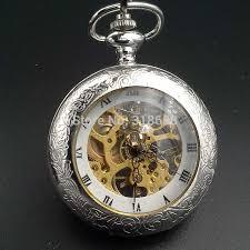 wind up pocket watches for men best pocket watch 2017 aliexpress vine style fashion silver tone wind up
