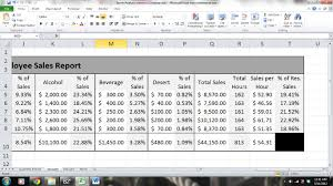 Sales Analysis Template Server Sales Performance Report And Analysis Microsoft Excel 24 8