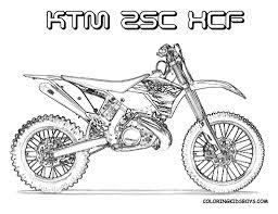 Kleurplaat Crossmotor Ktm For Kleurplaten Motorcross Beste
