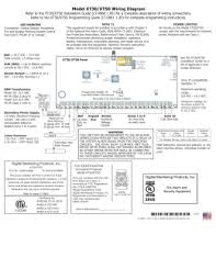 model xr6 wiring diagram refer to the xr6 installation guide dmp xr500 user manual at Dmp Fire Alarm Wiring Diagrams