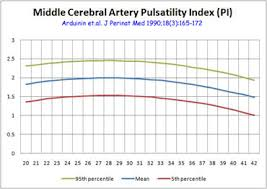 Mca Doppler Normal Values Chart 3rd Trimester Ultrasound How To