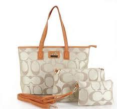 Have a sense of fashion Coach Bleecker Fabric Khaki Crossbody Bags  Wristlets Value Spree