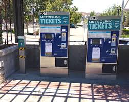 Metrolink Ticket Vending Machine New Metrolink California Wikiwand