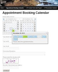 Appointment Calander Appointment Booking Calendar Wordpress Org
