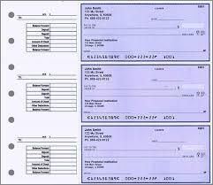desk set checks personal size 3 to a page