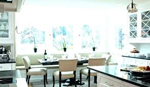 kitchen banquette furniture. Kitchen Banquette Seating Round Curved Bench Traditional With Bamboo . Furniture