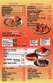 mexican food appetizers menu. Simple Appetizers Chubbyu0027s Mexican Restaurant Menu Intended Food Appetizers Menu 0