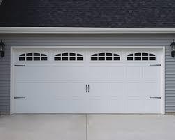 Charming Carriage Garage Doors No Windows with Garage Door Opener