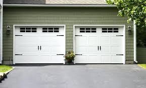 Carriage Garage Doors Stamped Carriage Doors Carriage House Garage