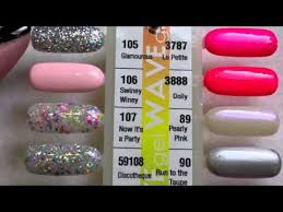 Wave Gel Matching Color Chart Wavegel Matching Gel Nail Polishes Youtube