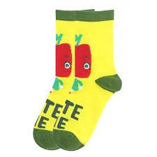 Apple Eye Crew Socks