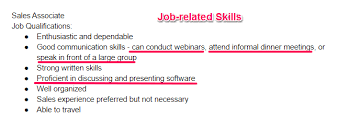 skills for resume skills section of resume examples
