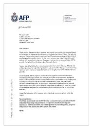 Managing Mental Health In The Australian Federal Police Australian