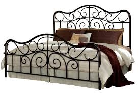 Santa Cruz Bedroom Furniture Furniture Santa Cruz King Metal Bed In Cherry 56226