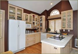 image of popular whitewash kitchen cabinets