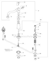 delta kitchen faucet aerator replacement faucet aerator parts diagram