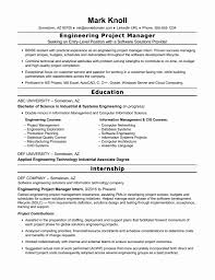 Resume Format Manager Best Project Engineer Resume Format Lead Manager Management Cv 16