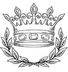 Small Picture Nice Crown Coloring Page 50 4984