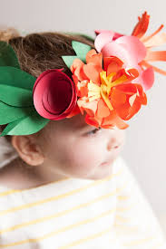 Paper Flower Headbands The Cutest Paper Flower Crowns You Ever Did See W Photo Tutorials