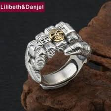 <b>S925 pure silver jewelry</b> male and female general opening Buddha ...