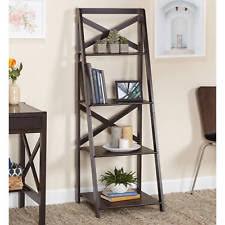 Wooden Ladder Display Stand 100 Tier Corner Shelf Wooden Ladder Wood Display Stand Unit Floor 89