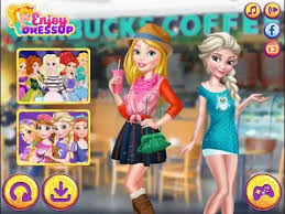 barbie and elsa fs new make up and dress up game new game 2016 you