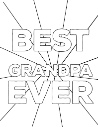 fun present happy father s day coloring pages free printables for grandpa diy easy father s day ideas