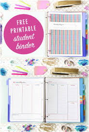 Free Test Maker Printable Cool Student Binder For BacktoSchool With Free Printables