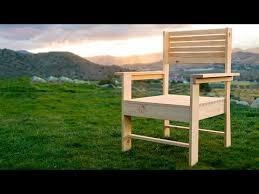 making a patio chair simple diy