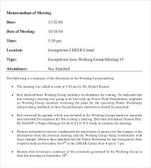 Meeting Memo Template Fascinating Meeting Memo Format Engneeuforicco