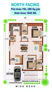 home plan north facing best of appealing 600 sq ft house plans with car parking plan