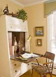 home office in a cupboard. Interesting Office Use A PullOut Desk With Home Office In A Cupboard L