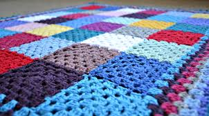 Crochet granny square baby blanket – The Green Dragonfly & Granny blanket 5 Adamdwight.com