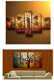 extra large hand painted art paintings