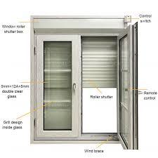 house exterior aluminum roller shutters