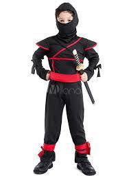 Ninja Suit Size Chart Kids Ninja Costume Boys Halloween Costumes