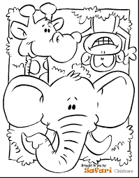 Preschool Animal Coloring Pages At Getdrawingscom Free For